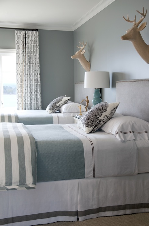turquoise blue and gray design ideas