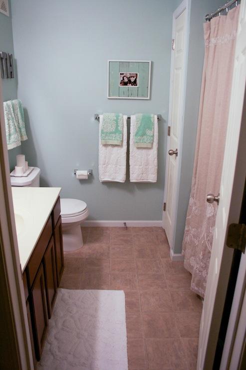 Bathroom Benjamin Moore Palladian Blue