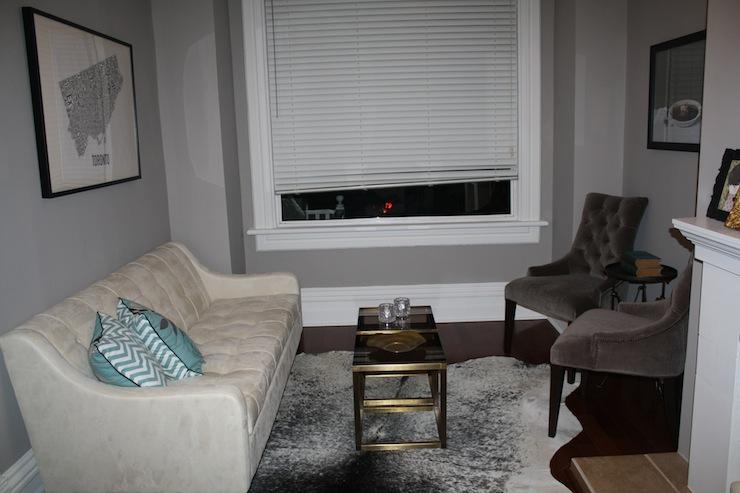 Living Room Benjamin Moore SIlver Fox