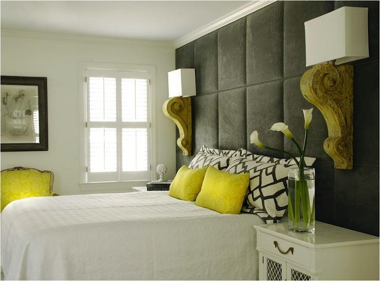 Floor To Ceiling Headboard Contemporary Bedroom Caldwell Flake
