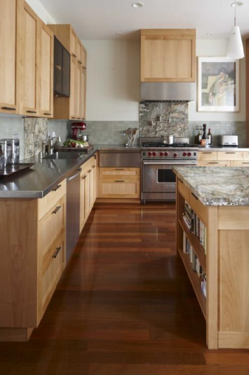 Maple Kitchen Cabinets - Contemporary - kitchen - Andre ... on Maple Cabinets Kitchen  id=67822