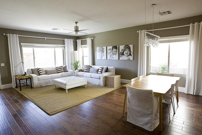 Taupe Living Room Walls Design Ideas Part 74