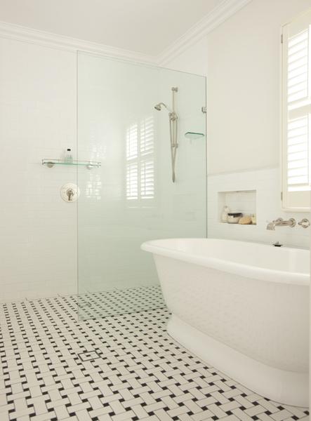 glass shower partition ideas
