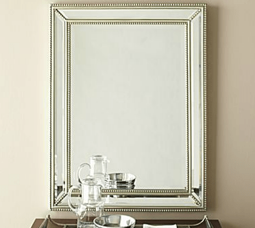 Horchow Beaded Beveled Mirror Look 4 Less