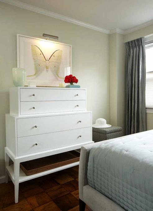 Stacked Dresser Contemporary Bedroom Benjamin Moore