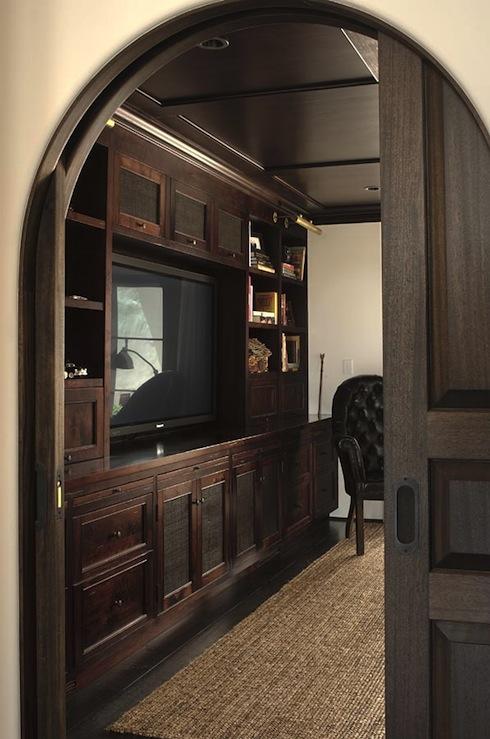 Built In Cabinets Mediterranean Denlibraryoffice
