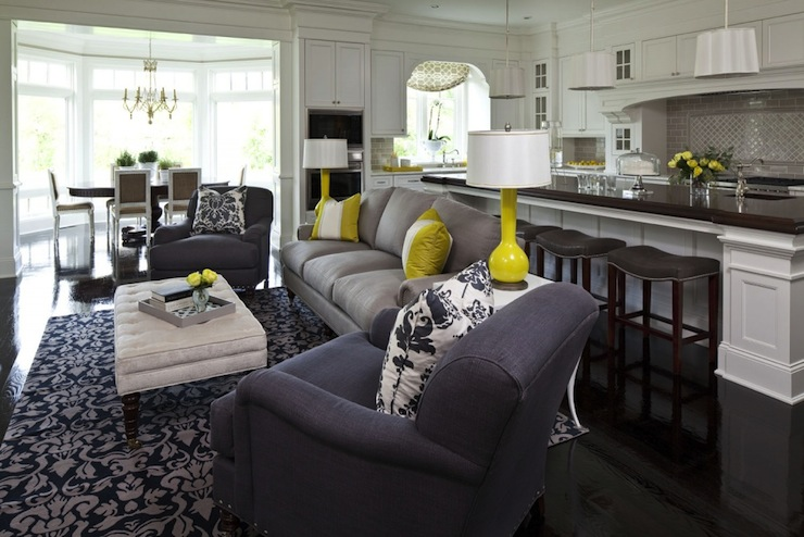 Yellow And Gray Living Room Design Ideas Part 49