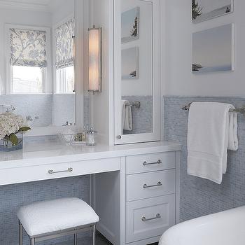 Restoration Hardware Vanity Sink Transitional Bathroom