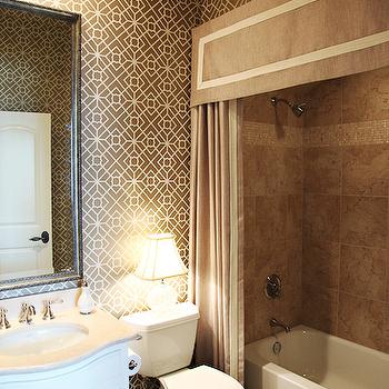 custom shower curtain with valance