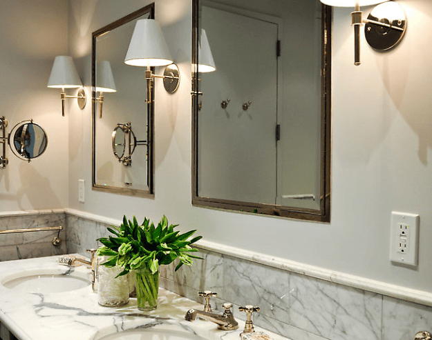 inset medicine cabinets - traditional - bathroom - urban electric co.