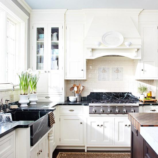 soapstone sink transitional kitchen