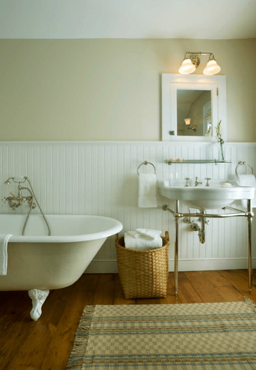 Clawfoot Tub Bathroom Design Transitional Bathroom John B Murray Architect