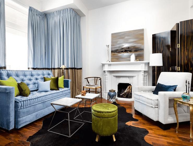 Gray Velvet Tufted Sofa French Living Room Lynne