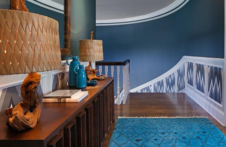 Turquoise Blue Walls Design Ideas
