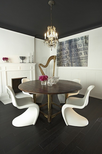 Panton Dining Chairs Eclectic Dining Room Palmerston