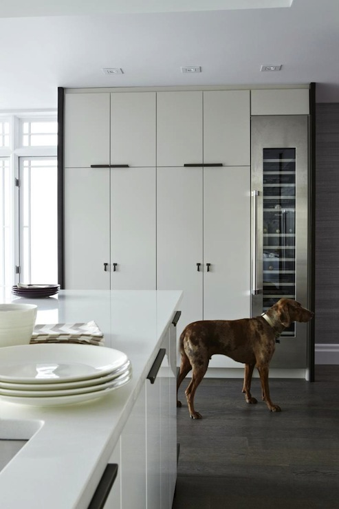 Floor To Ceiling Kitchen Cabinets Contemporary Kitchen