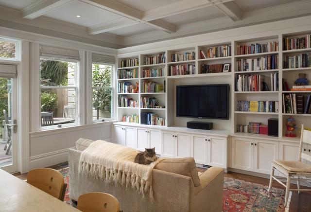 Built In Living Room