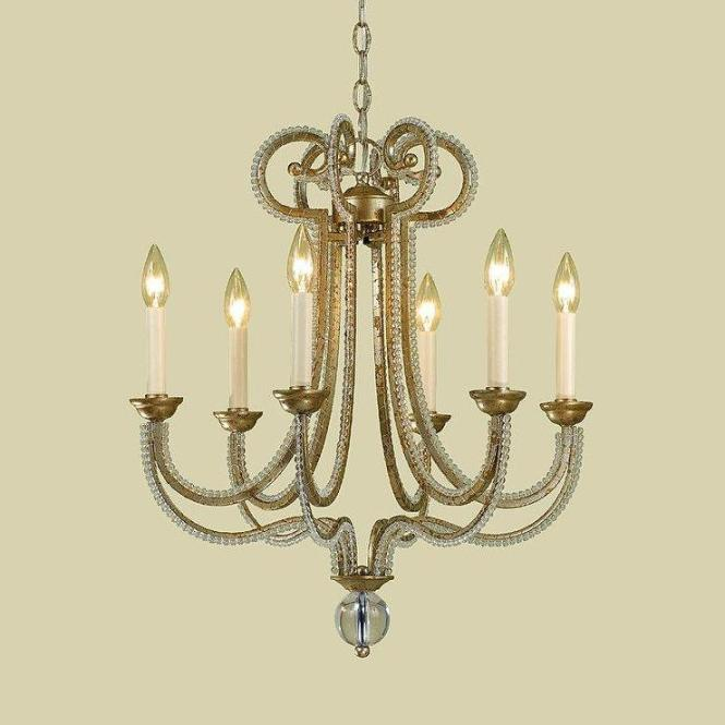 Candice Olson 6772 6h 6 Light Chandelier Soft Gold Lighting Universe