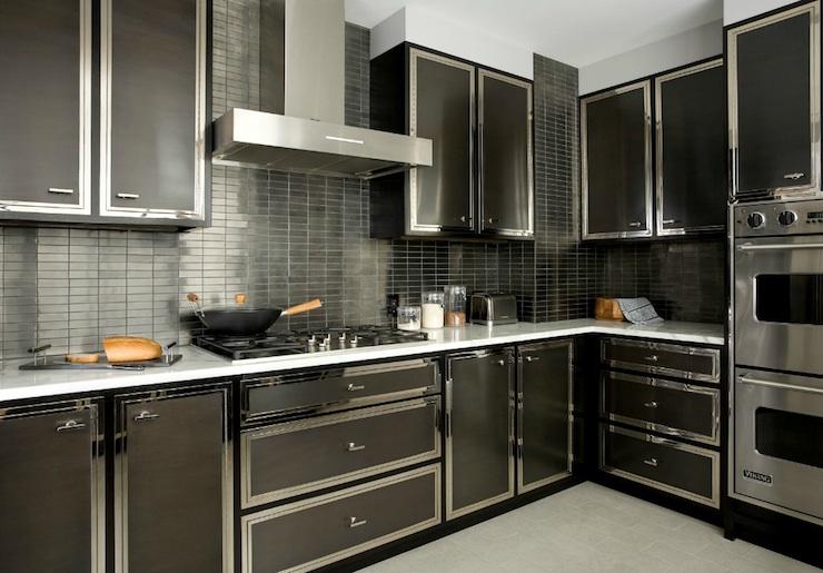 Black Kitchen Backsplash Design Ideas on Black Countertop Backsplash  id=66419
