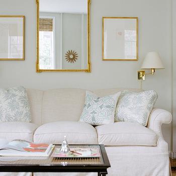 Mirror Above Sofa Design Decor Photos Pictures Ideas