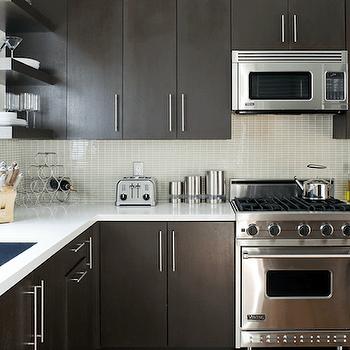 Espresso Kitchen Cabinets Design Ideas
