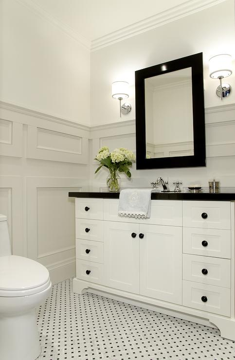 Bathroom Molding Traditional Bathroom Benjamin Moore