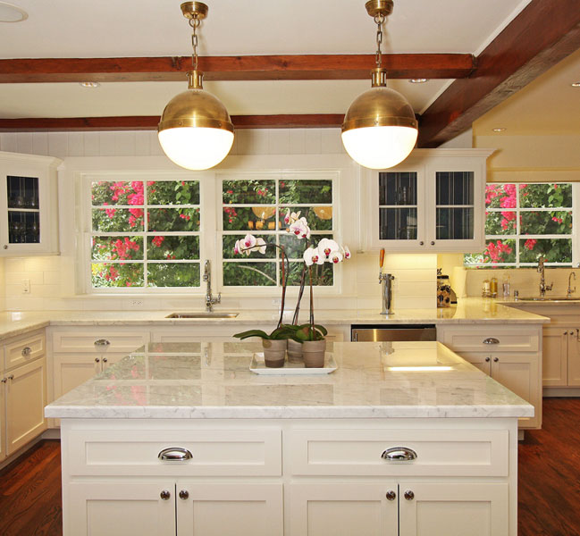 Thomas OBrien Hicks Pendant Transitional Kitchen