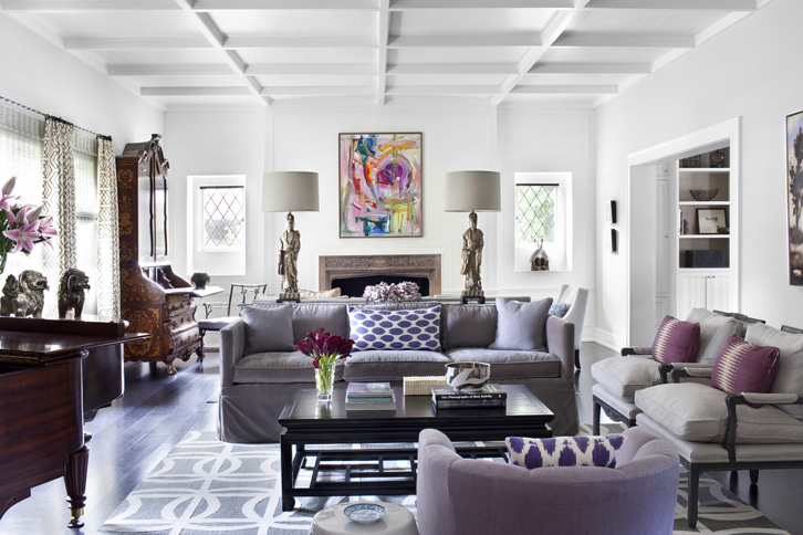 Gray And Purple Living Room Design Ideas Part 94