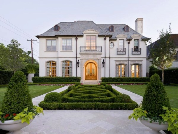 French Chateau - French - home exterior - Pricey Pads