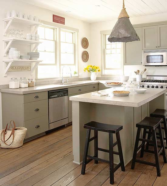 Grey And Green Kitchen grey green kitchen cabinets | nrtradiant