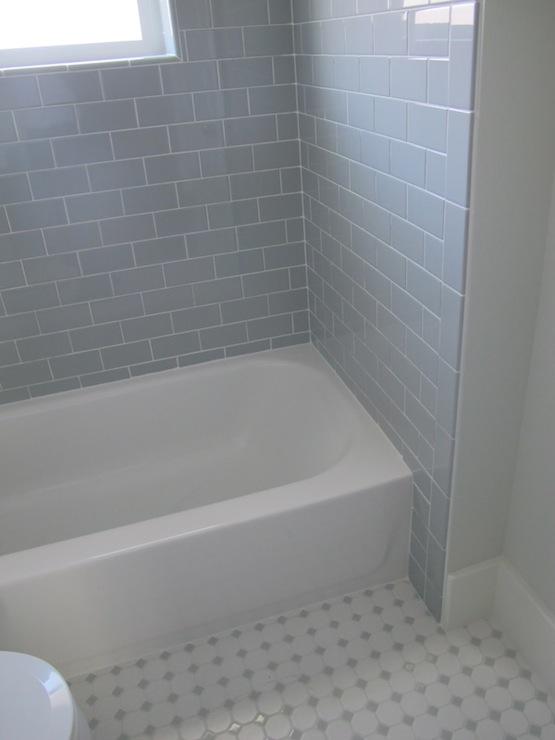 gray subway tile contemporary