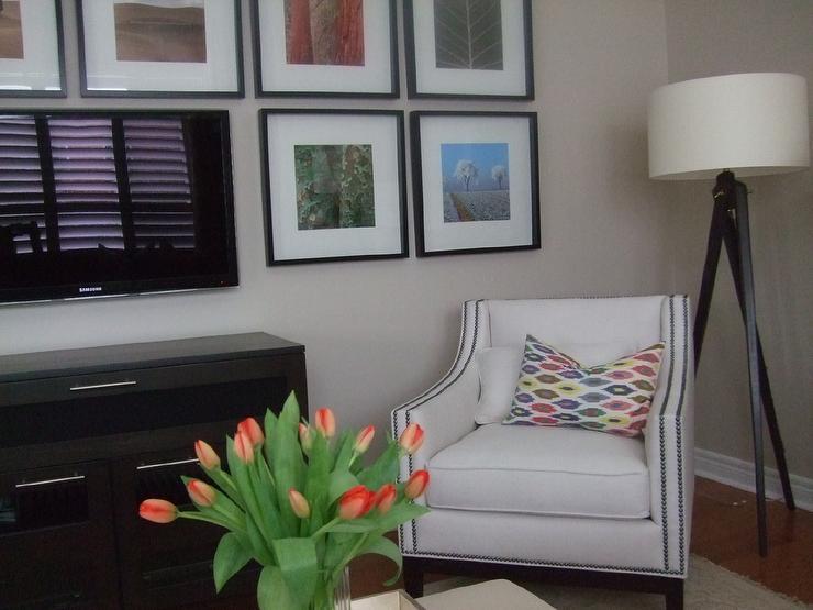 Living Room Benjamin Moore Natural Linen