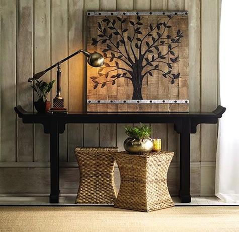 Ballard Designs Ananda Serving Table Look 4 Less