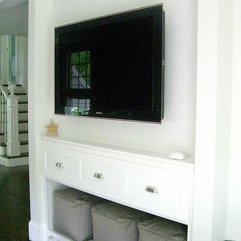 Built In Media Cabinet