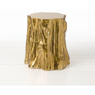 Golden Cut Stump Table Neiman Marcus