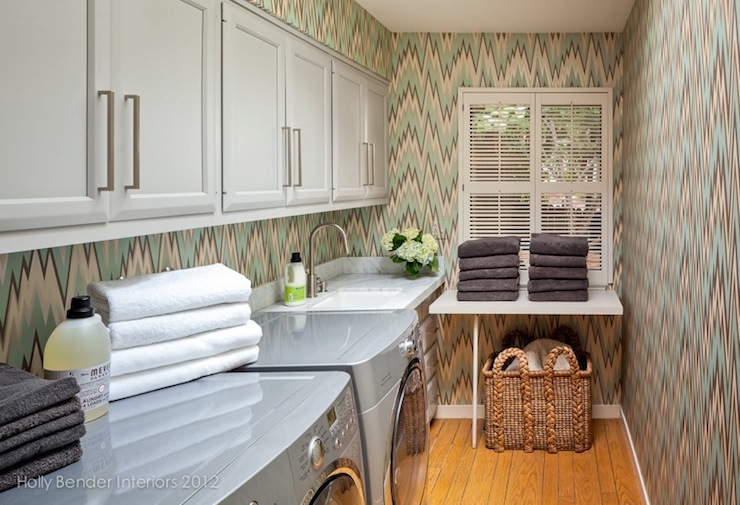 Amazing Laundry Room - Contemporary - laundry room - Holly ... on Amazing Laundry Rooms  id=94761