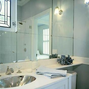 Mirrored Backsplash Design Decor Photos Pictures