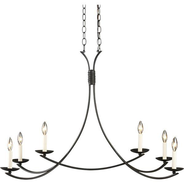 Winston Chandelier I Crate And Barrel