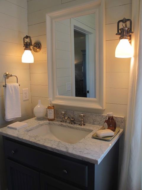 Coastal Bathroom Cottage Bathroom Sherry Hart Designs
