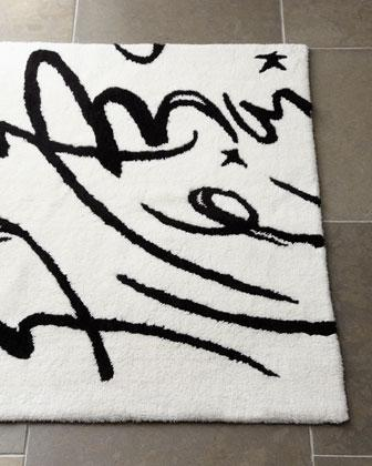 calligraphy bath rug - neiman marcus