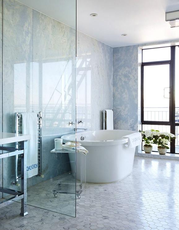 Open Shower Design By Anne Hepfer Designs
