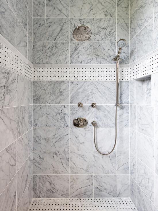 inset shower tile design ideas