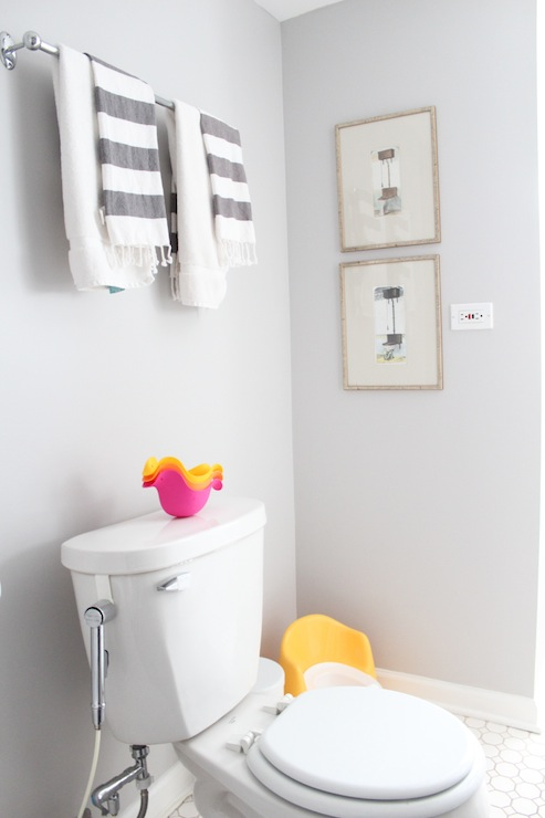 Gray Paint Colors Contemporary Bathroom Behr Dolphin