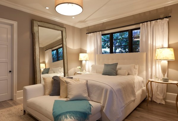 Bed in Front of Window - Contemporary - bedroom - Gordon ...
