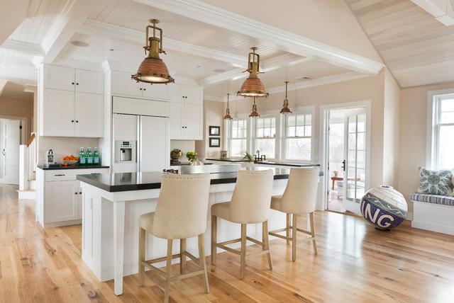 Restoration Hardware Bar Stools Cottage Kitchen Kate Jackson Design