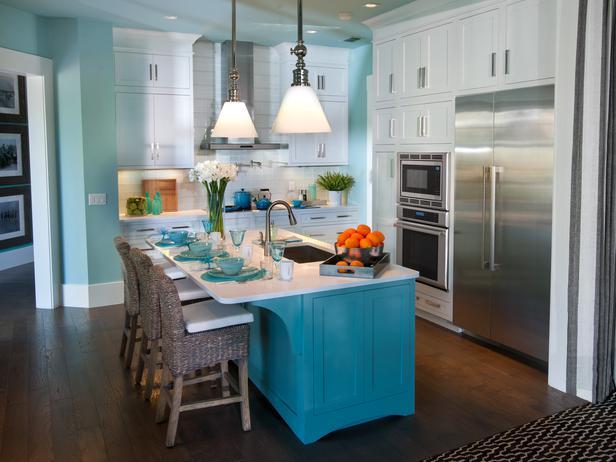 Turquoise Kitchen Island Kitchen Sherwin Williams