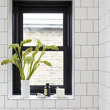 tiled window sill design ideas