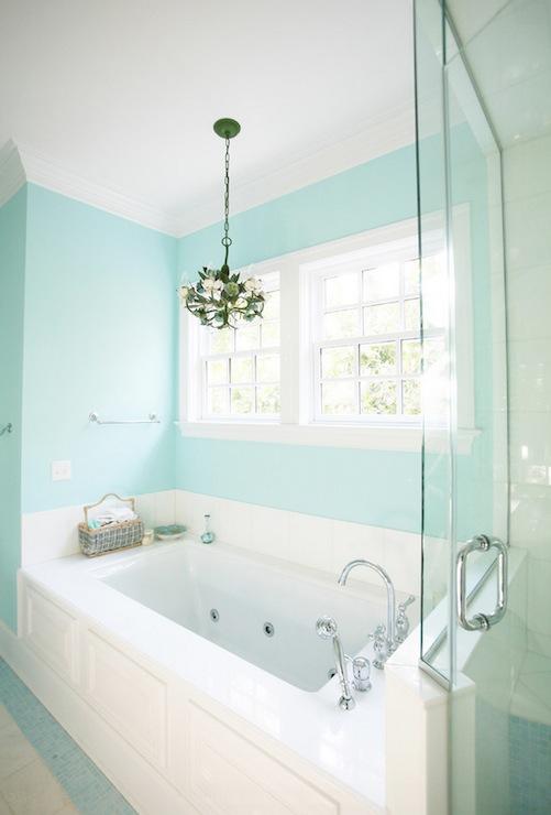 tiffany blue paint colors contemporary bathroom on blue paint bathroom ideas exterior id=69113