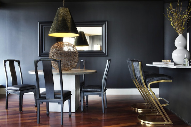 Chinoiserie Dining Chairs Contemporary Dining Room