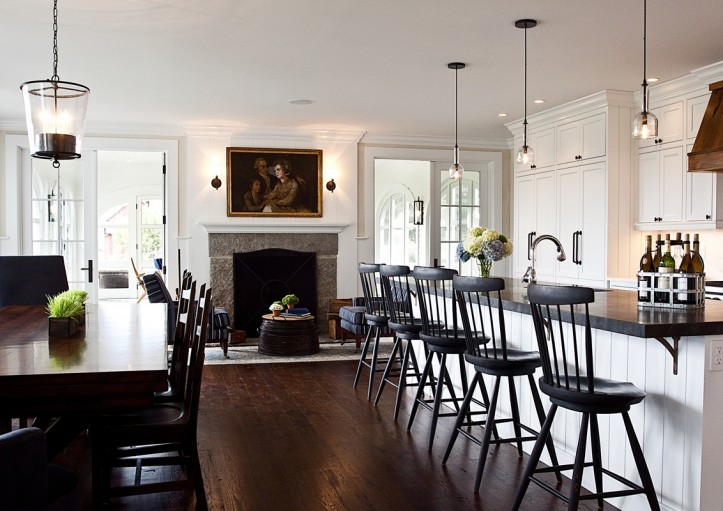 Windsor Bar Stools Country Kitchen Marcia Tucker Interiors
